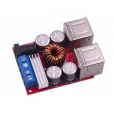 DC-DC понижающий преобразователь, Зарядка 8-35V /4 x USB 5V 8A
