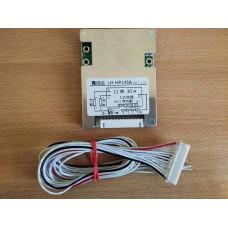 BMS Контролер (плата захисту) 12S LiFePO4 36V, 30A з Балансом