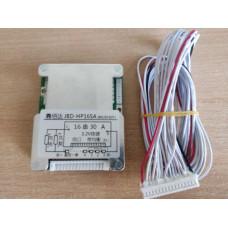 BMS Контролер (плата захисту) 16S LiFePo4, 48V 30A Balance