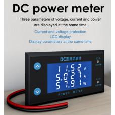 Вольтметр+Амперметр+Ватметр 200VDC / 10А / 2000W