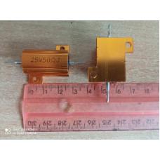 Нагрузочный резистор 25W 50 Om