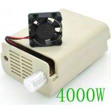 Мощный электронный регулятор напряжения,мощности AC 220V Диммер 4000W в корпусе