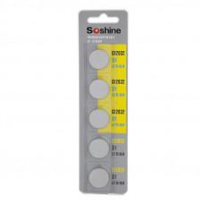 Батарейка Soshine CR2032 3V Lithium
