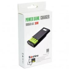 Портативна зарядка, Power Bank Soshine E3S-QC 4х18650, НОВИНКА!