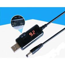 Перетворювач DC-DC підвищуючий LCD 5V-9V 1A / 12V 0,8A (KWS-912V)