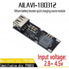 DC-DC преобразователь, USB-модуль быстрой зарядки QC 2.0,3.0 (5V,9V,12V) на базе TPS61088