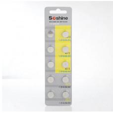 Батарейка Soshine LR44 (A76) 2 шт.