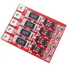 Плата балансировки аккумуляторов 4S LiFePO4 14.4V / 60 mA