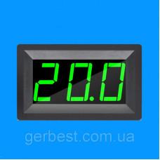 LED Цифровий термометр -50 ~ 110 ° C (XH-B302) Зелений