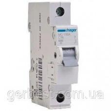 Автоматичний вимикач 230V 10A, Hager (MС116А С16)