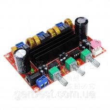 Аудио Усилитель трехканальный (сабвуфер), XH-M139 TPA3116D2 2.1, 2X50W+1X100W