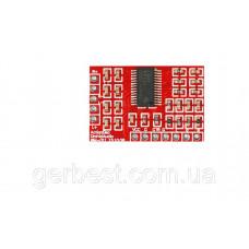 Аудіо підсилювач, Стерео D-класу 2.0, TPA3110, 2 x 15W