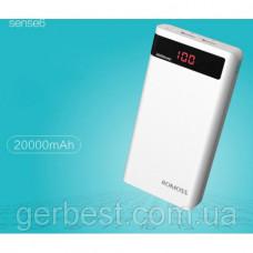 Корпус для портативной зарядки, LCD Power Bank 20000mAh 2 x USB 2A
