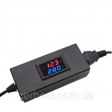Вольтамперметр, тестер заряда электроаккумулятора  36-84V 5A