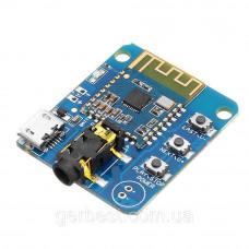 Аудио модуль приемник JDY-64 Bluetooth 4.2, DC 3.3-5В, AUX