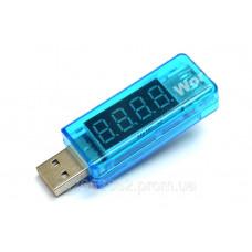 USB тестер (вольтметр, амперметр) 3,5 - 7V, 3А