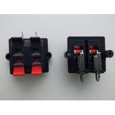Аудио-терминал,разъем подпружиненный контакт 4P