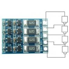 Плата балансировки аккумуляторов 4S Li-Ion 16.8V / 60 mA