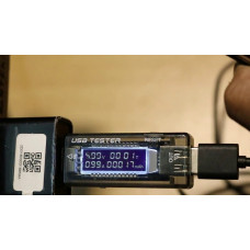 USB-тестер для измерения ёмкости,тока,времени 3-20V 3.3A KWS-V21 NEW!