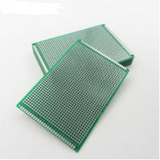 Макетна, монтажна плата PCB Двостороння 8 x 12 см
