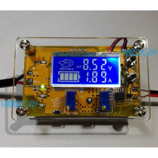 DC-DC Понижающий преобразователь c LCD рег. CC/CV 5A | USB+ Корпус