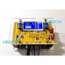 DC-DC Підвищуючий перетворювач c ЖК-дисплеєм, IN 10-40V / OUT 10-60V, рег. CC / CV 10A + Корпус NEW!