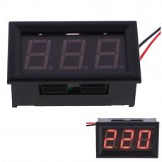 AC Цифровий Вольтметр змінної напруги LED AC 70-500V червоний / синій / зелений