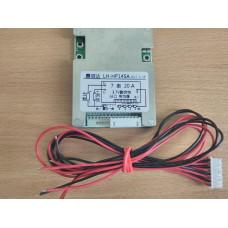 BMS Контроллер (плата защиты) 7S li-ion / li-pol 24V 20A. С Балансировкой