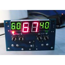 XH-W1401 Терморегулятор,термостат, реле -9 ... +110 / DC 12V