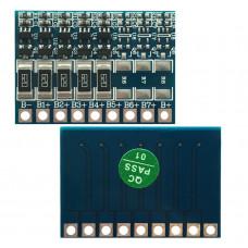 Плата балансировки аккумуляторов 5S Li-Ion 18V / 60 mA