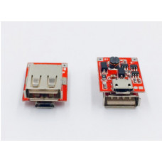 Контроллер,Плата Power Bank павербанк li-ion 18650 1 x USB 5V 1A