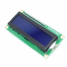 LCD Дисплей 1602A / модуль-перехідник IIC/I2C (Синий) HD44780 Ardгuino