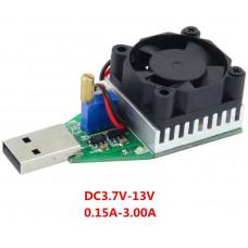 Регульована електронна USB-навантаження, Опір 3A 15W