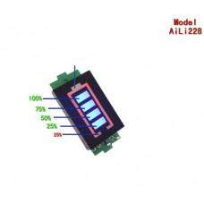 LED индикатор заряда/разряда аккумуляторов li-ion / Li-pol 2S 8.4V
