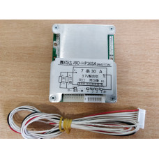 BMS Контроллер (плата защиты) li-ion / li-pol 7S 24V 30A c Балансировкой