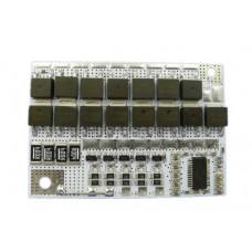 BMS Контролер (Плата захисту) Li-Ion 5S LED 18 ... 21V 100A Balance