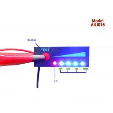 LED индикатор заряда/разряда аккумуляторов Pb 12V / 4S LiFePO4 14.8V