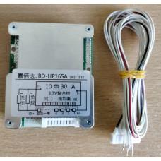 BMS Контроллер (плата защиты) 10S li-ion 36V 30А с Балансировкой