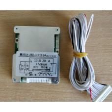 BMS Контроллер (плата защиты) 13S li-ion 48V 20A С Балансировкой