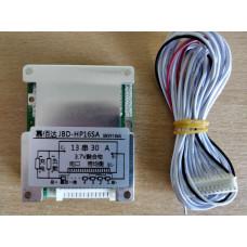 BMS Контроллер (плата защиты) 13S li-ion 48V 30A С Балансировкой
