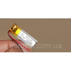 Аккумулятор Литий-полимерный (Li-pol) 3.7V 130 mAh