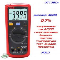 Мультиметр цифровой, тестер UNI-T UT136C+ Новинка!