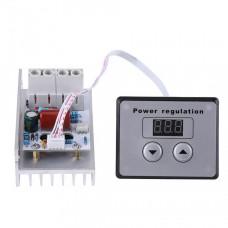 Диммер с цифровым управлением, регулятор напряжения 10000W, AC 220V
