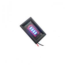LED индикатор заряда/разряда аккумуляторов LiFePO4 / Pb  12V