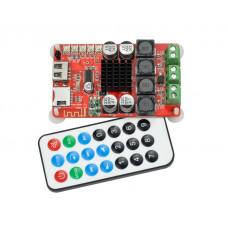 Аудио усилитель TPA3116D2, 2 x 50W, Bluetooth 4.0, USB / MicroSD, Fm