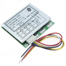 BMS Контролер заряду / розряду, Плата захисту 4S 3.2V LiFePo4 12.8V 100A