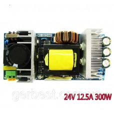 Импульсный Блок питания, AC-DC преобразователь 220-24V 12.5А 300W