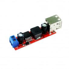 DC-DC Понижающий преобразователь 9.0 - 36V / 2 X USB, 5V 3A (LM2596)
