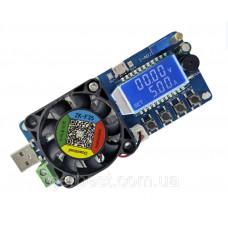 Регулируемая электронная нагрузка,сопротивление USB 5A LCD (FX35)